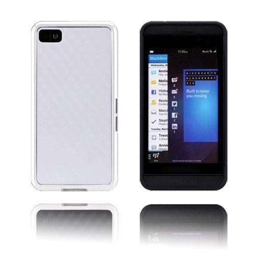 Edgevalkoinen Valkoinen Blackberry Z10 Kotelo