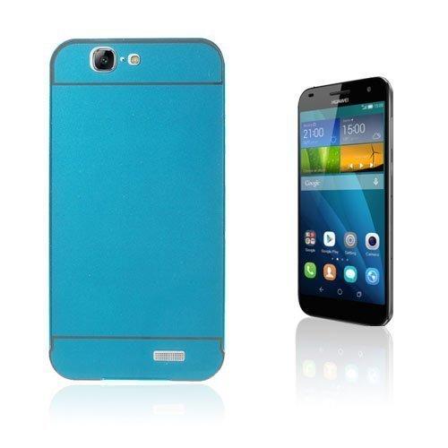 Egeland Huawei Ascend G7 Metalli Suojus Sininen