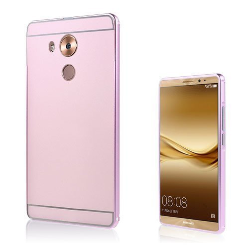 Egeland Huawei Mate 8 Alumiini Seos Kuori Pinkki