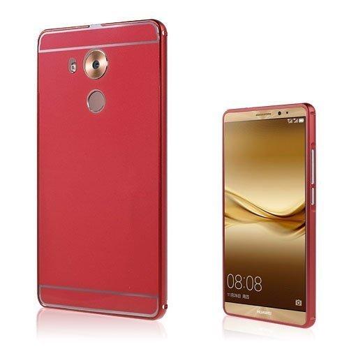 Egeland Huawei Mate 8 Alumiini Seos Kuori Punainen