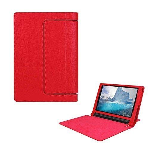 Egner Lenovo Yoga Tab 3 8.0 Läppä Nahkakotelo Punainen