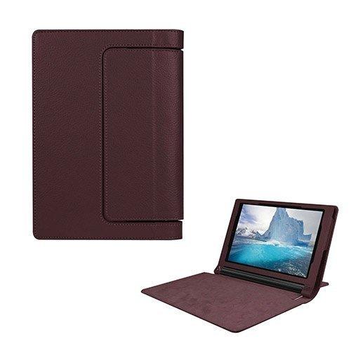 Egner Lenovo Yoga Tab 3 8.0 Läppä Nahkakotelo Ruskea