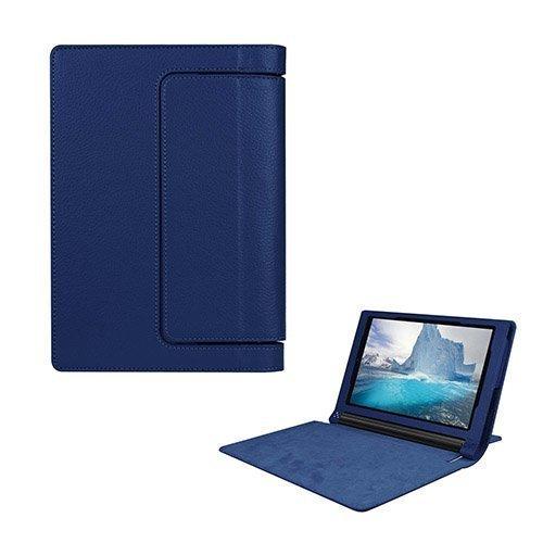 Egner Lenovo Yoga Tab 3 8.0 Läppä Nahkakotelo Tummansininen