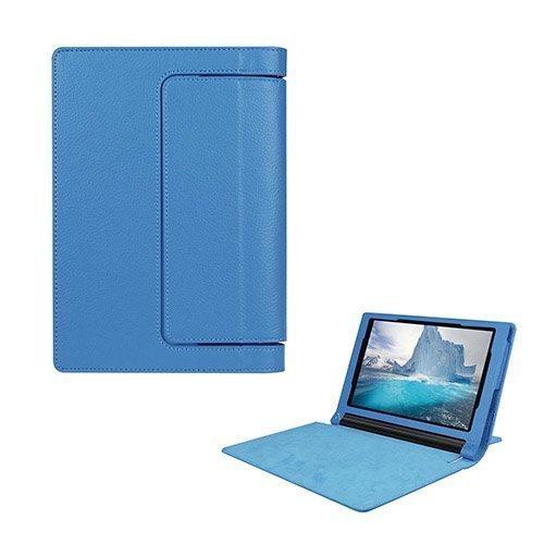 Egner Lenovo Yoga Tab 3 8.0 Läppä Nahkakotelo Vaaleansininen