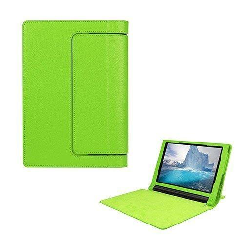 Egner Lenovo Yoga Tab 3 8.0 Läppä Nahkakotelo Vihreä