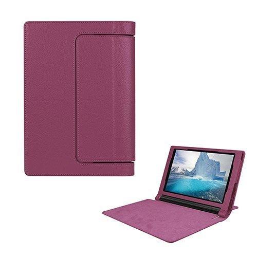 Egner Lenovo Yoga Tab 3 8.0 Läppä Nahkakotelo Violetti