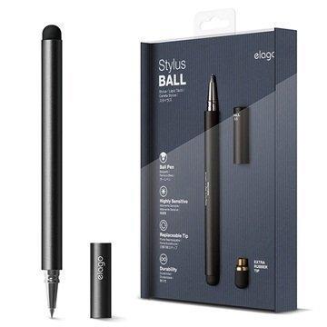 Elago Ball Kuulakärkikynä & Stylus-kynä Musta
