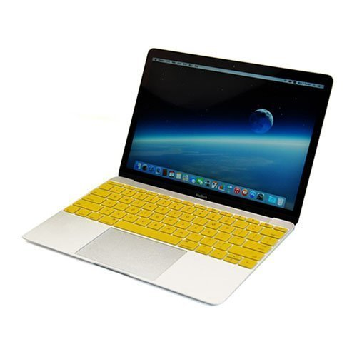 Enkay Macbook 12-Inch 2015 Retina Display Silicone Keyboard Film Keltainen