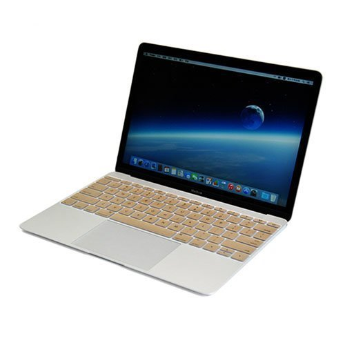 Enkay Macbook 12-Inch 2015 Retina Display Silicone Keyboard Film Kullankeltainen