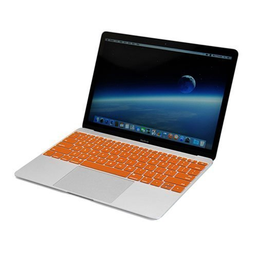 Enkay Macbook 12-Inch 2015 Retina Display Silicone Keyboard Film Oranssi