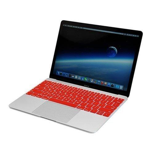 Enkay Macbook 12-Inch 2015 Retina Display Silicone Keyboard Film Punainen