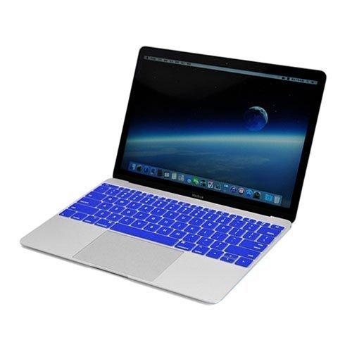 Enkay Macbook 12-Inch 2015 Retina Display Silicone Keyboard Film Tummansininen