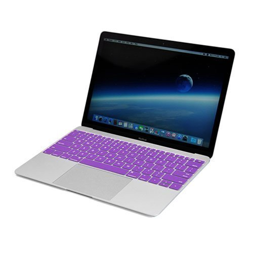Enkay Macbook 12-Inch 2015 Retina Display Silicone Keyboard Film Violetti