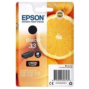 Epson 33 Mustepatruuna C13T33314012 Musta
