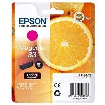 Epson 33 Mustepatruuna C13T33434010 Magenta