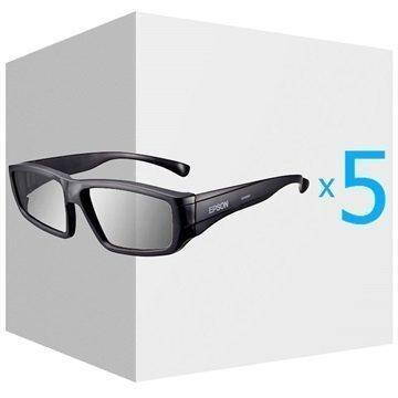 Epson ELPSP02 Passiivinen 3D-Lasisetti Aikuisille Musta
