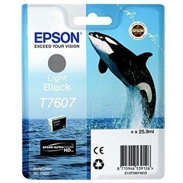 Epson SureColor SC-P600 Mustepatruuna T7607 Vaalea Musta