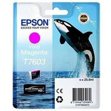 Epson T7603 Mustepatruuna C13T76034010 Heleä Magenta
