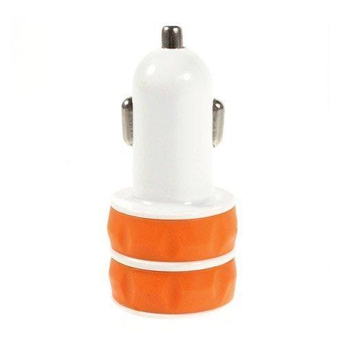 Es-03 3.1a Kaksois-Usb Autolaturi Oranssi