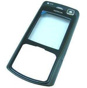 Etukansi Nokia N70 musta