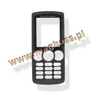 Etukansi Sony Ericsson W810 musta