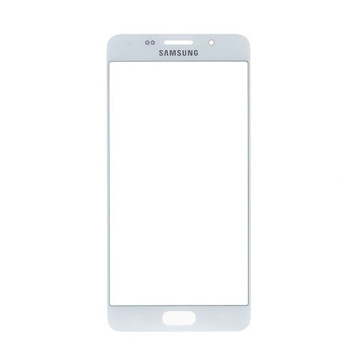 Etunäytön Lasinen Linssi Samsung Galaxy A5 2016 Puhelimelle Valkoinen