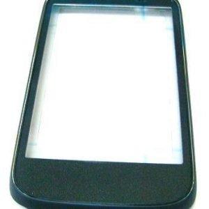 Etupaneeli HTC Desire C A320e musta