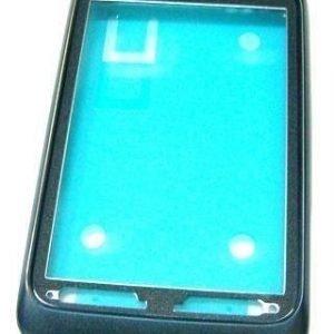 Etupaneeli HTC Wildfire S A510e musta