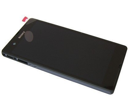 Etupaneeli + LCD ja Kosketuspaneeli Sony C6602/ C6603/ C6606/ C6616 Xperia Z musta