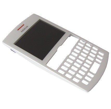 Etupaneeli Nokia 205 Asha/ 205 Asha Dual SIM valkoinen