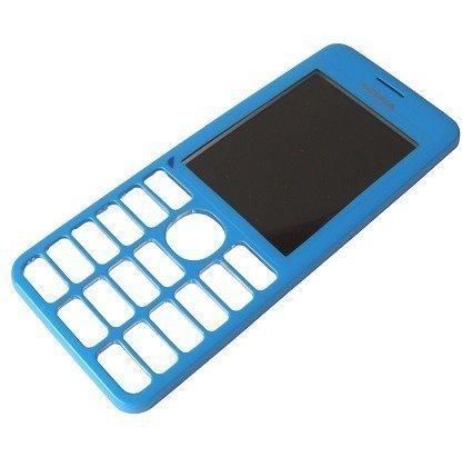 Etupaneeli Nokia 206 Asha cyan