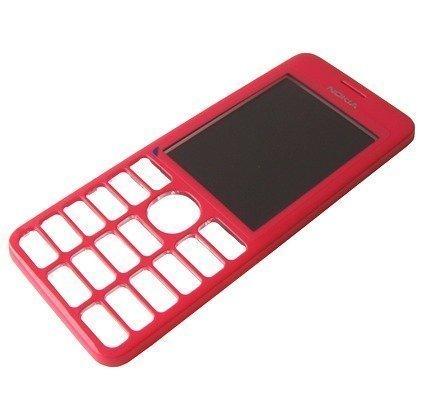Etupaneeli Nokia 206 Asha magenta