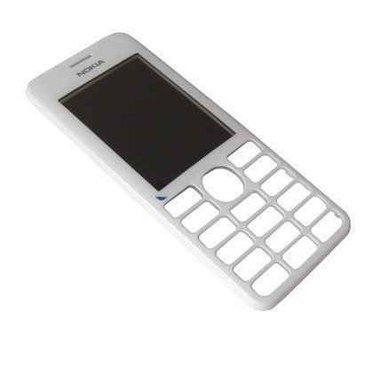 Etupaneeli Nokia 206 Asha valkoinen