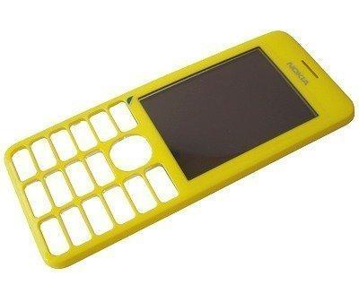 Etupaneeli Nokia 206 Asha yellow