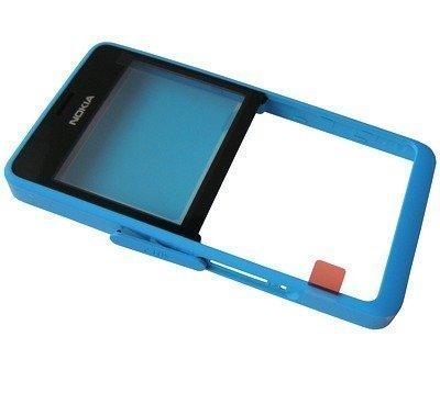 Etupaneeli Nokia 210 Asha Dual SIM cyan