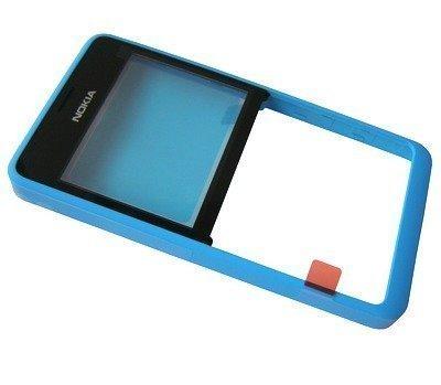 Etupaneeli Nokia 210 Asha cyan
