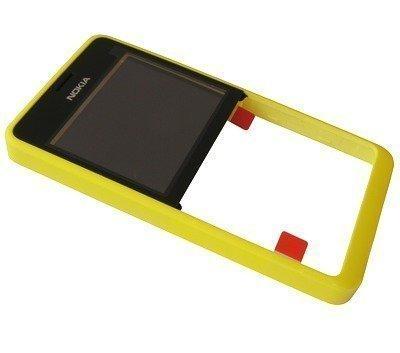 Etupaneeli Nokia 210 Asha yellow
