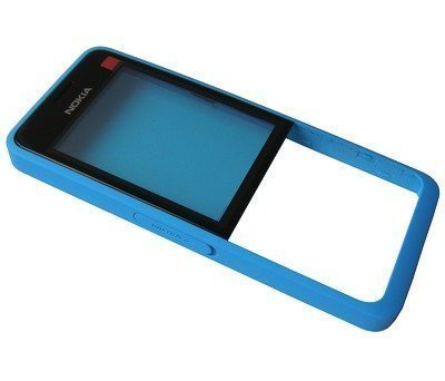 Etupaneeli Nokia 301 Dual SIM cyan