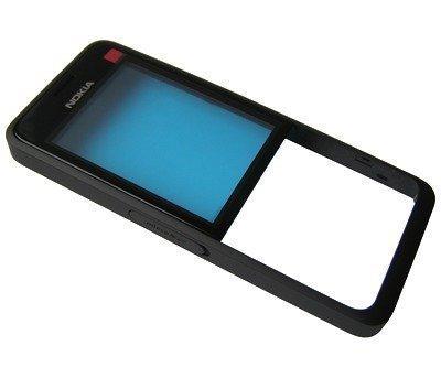 Etupaneeli Nokia 301 Dual SIM musta