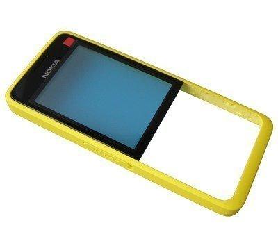 Etupaneeli Nokia 301 Dual SIM yellow