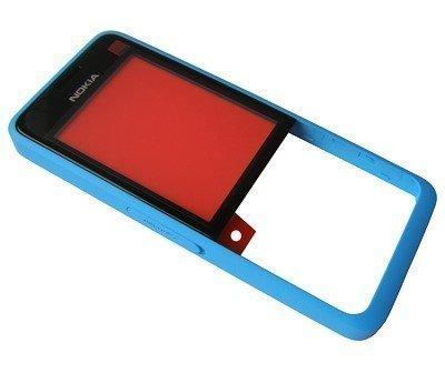 Etupaneeli Nokia 301 cyan