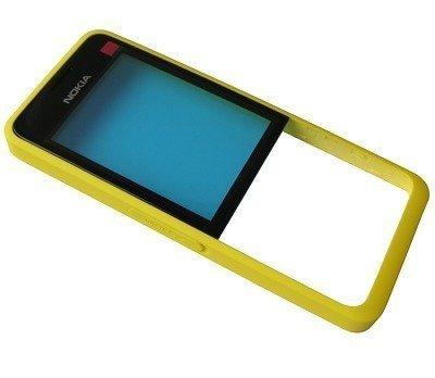 Etupaneeli Nokia 301 yellow