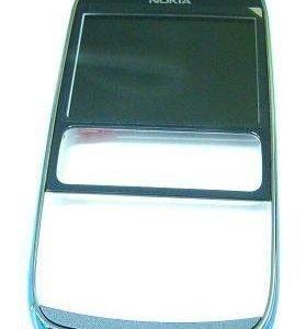 Etupaneeli Nokia 302 Asha dark grey