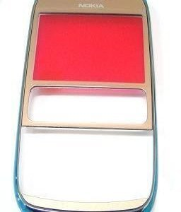 Etupaneeli Nokia 302 Asha golden light