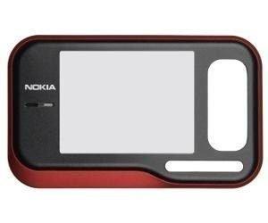 Etupaneeli Nokia 6760s red