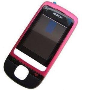 Etupaneeli Nokia C2-05 pink