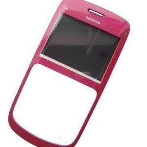 Etupaneeli Nokia C3-00 pink