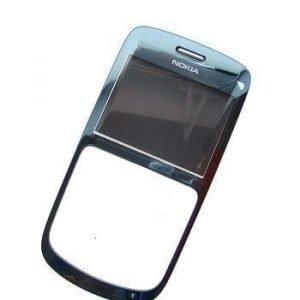 Etupaneeli Nokia C3-00 slate