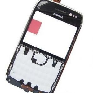 Etupaneeli Nokia E6-00 musta