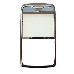 Etupaneeli Nokia E71 used musta Alkuperäinen